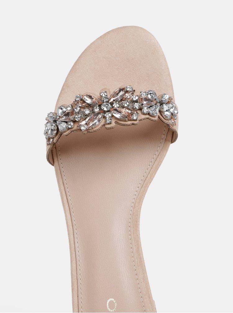 Saboti roz deschis de dama cu pietre ALDO Eraesa