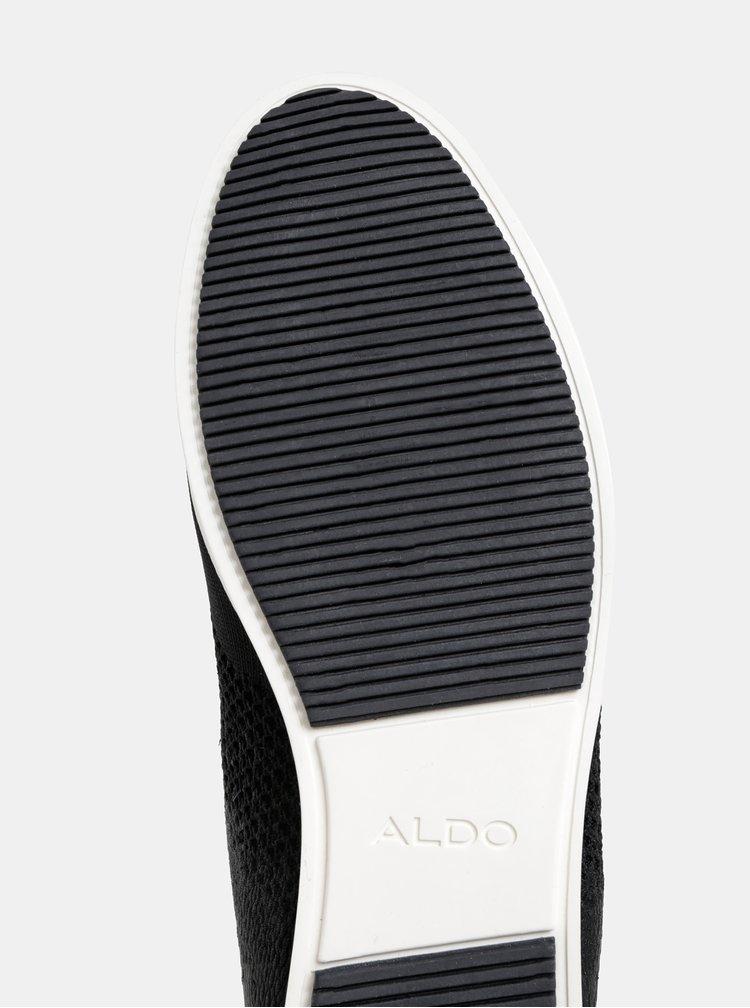Černé pánské tenisky ALDO Dragasani