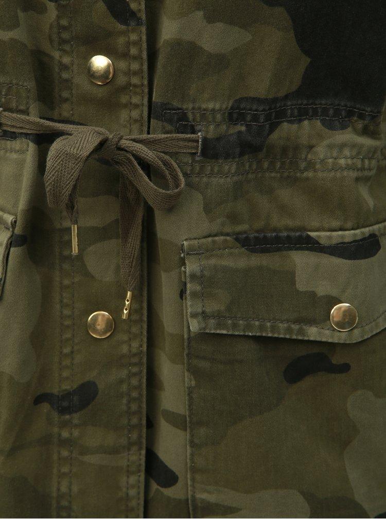 Jacheta verde camuflaj cu buzunare TALLY WEiJL
