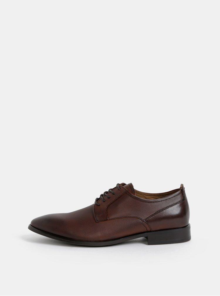 Pantofi barbatesti maro din piele ALDO Dubricii