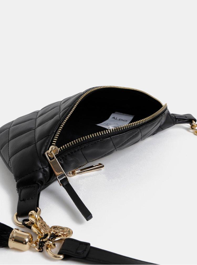 Čierna dámska ľadvinka so strapcom ALDO Brilalle