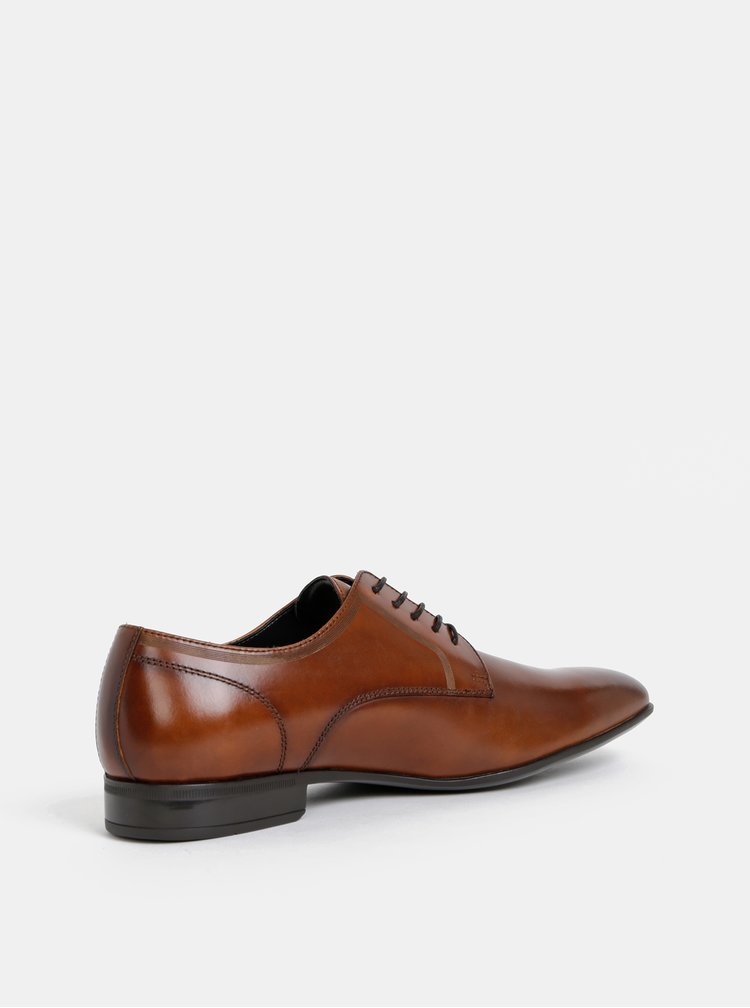 Pantofi barbatesti maro din piele ALDO Dryma