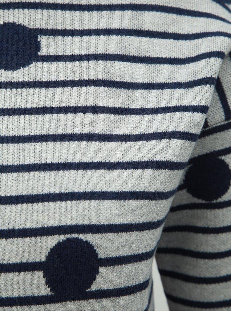 Šedý svetr s příměsí vlny Tom Joule Uma