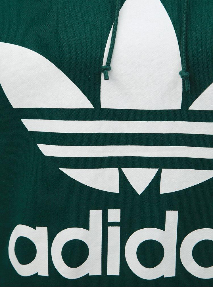 Zelená dámská mikina adidas Originals Trefoil