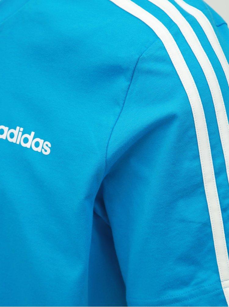 Modré pánské tričko adidas CORE Essentials