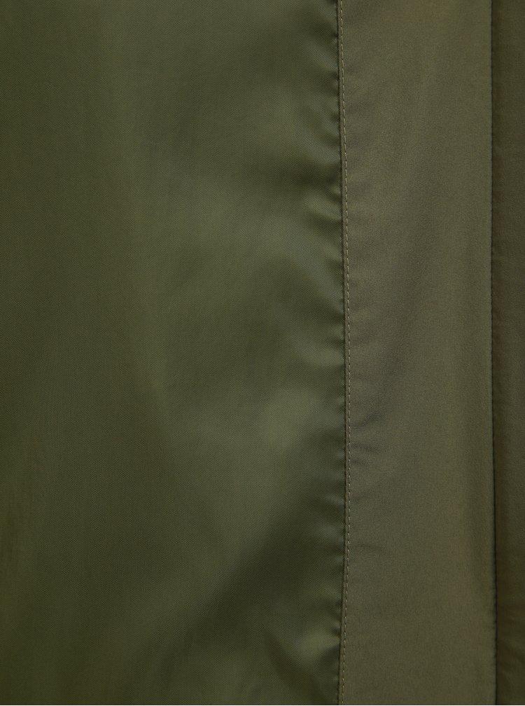 Jacheta barbateasca kaki impermeabila adidas Performance Climaproof Rain