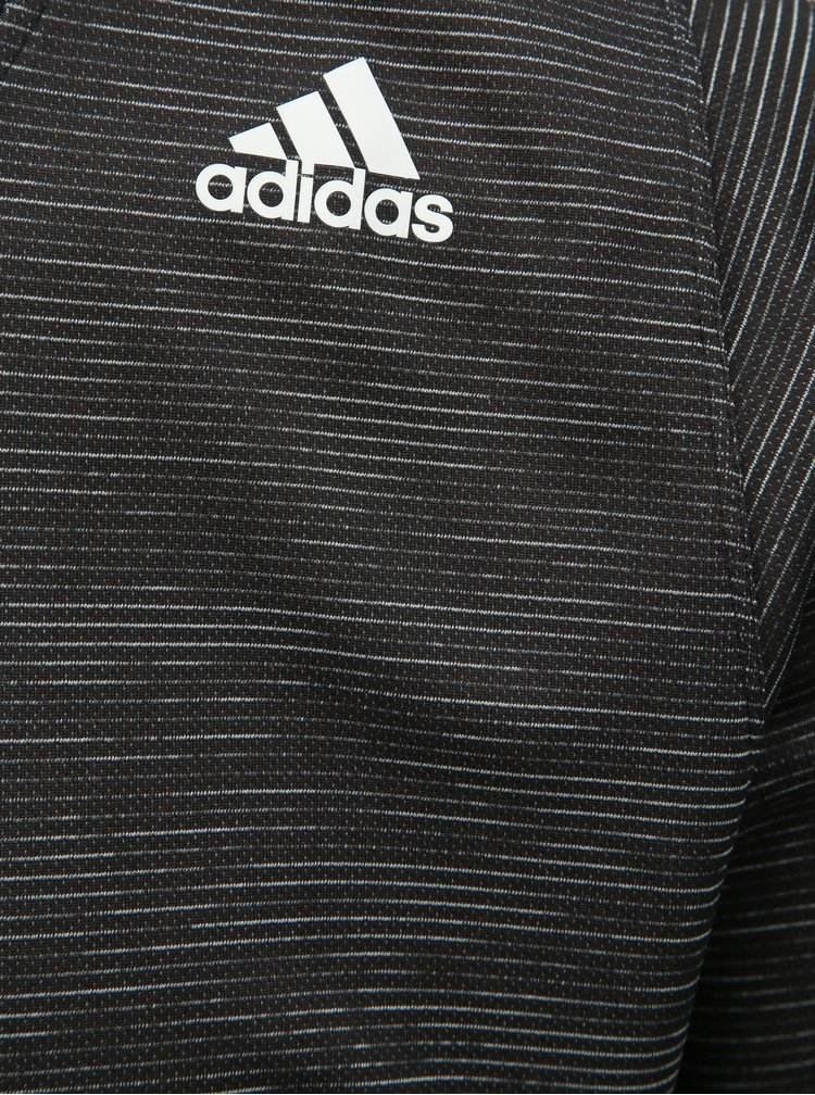 Tricou functional barbatesc gri inchis melanj adidas Performance