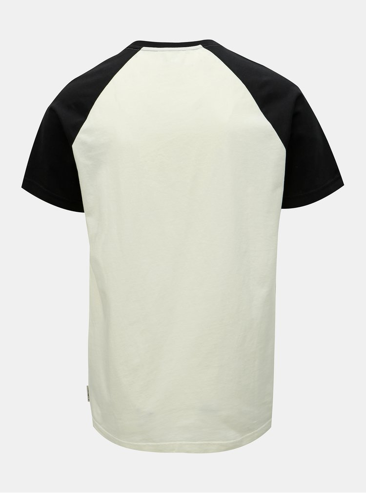 Krémové pánské tričko s potiskem Maloja Piazzet
