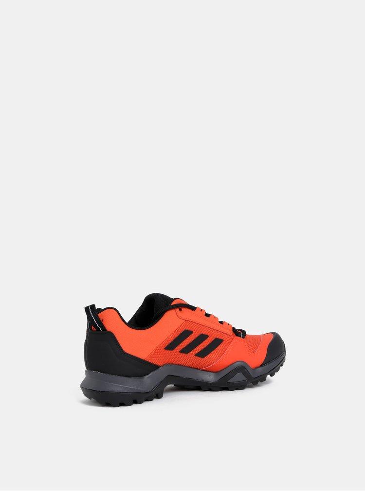 Červené pánské tenisky adidas Performance Terrex AX3