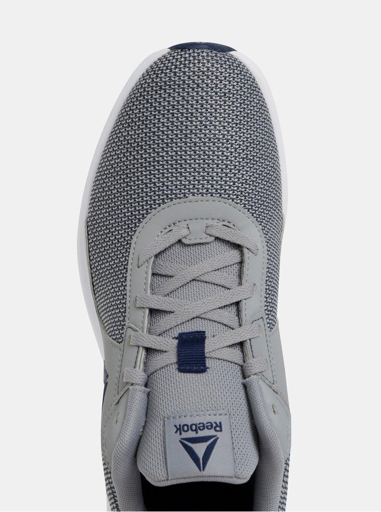 Sivé pánske melírované tenisky Reebok Driftium