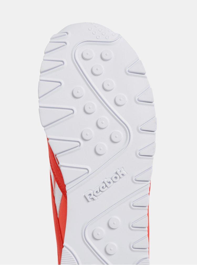Červené dámske tenisky s detailmi v semišovej úprave Reebok Classic Nylon Color
