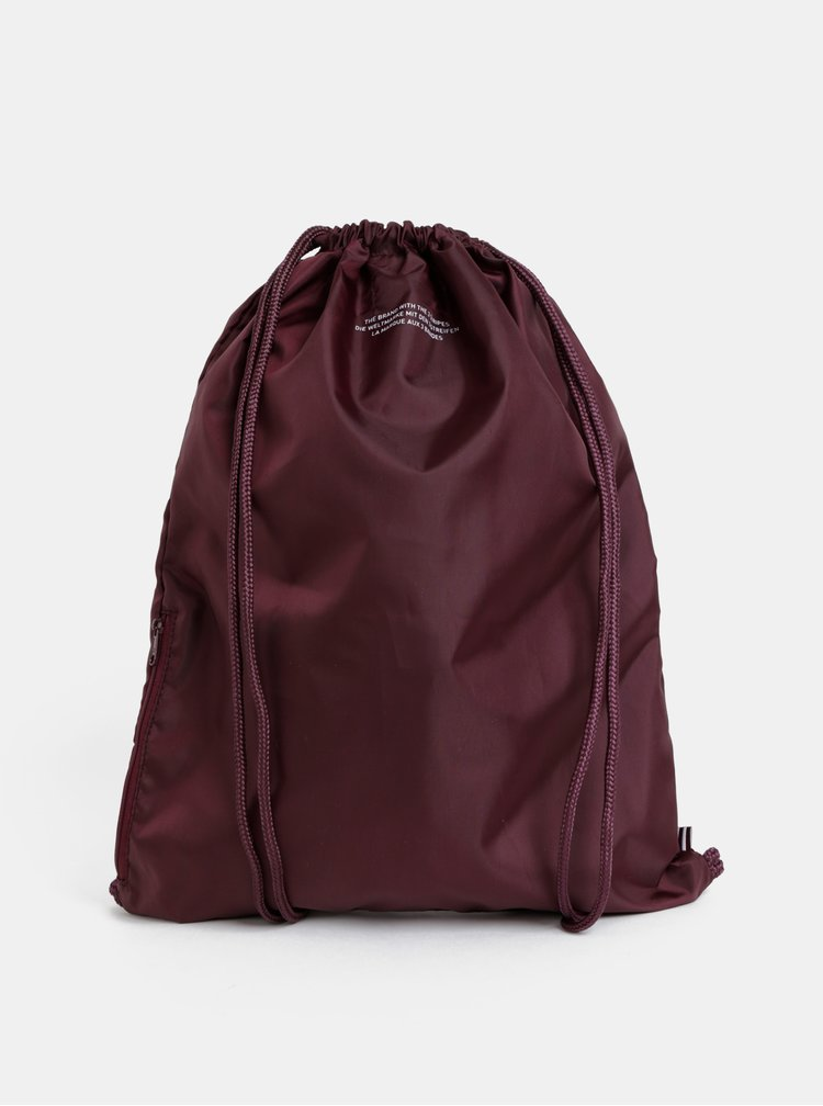 Sac bordo adidas Originals Gymsack Trefoil