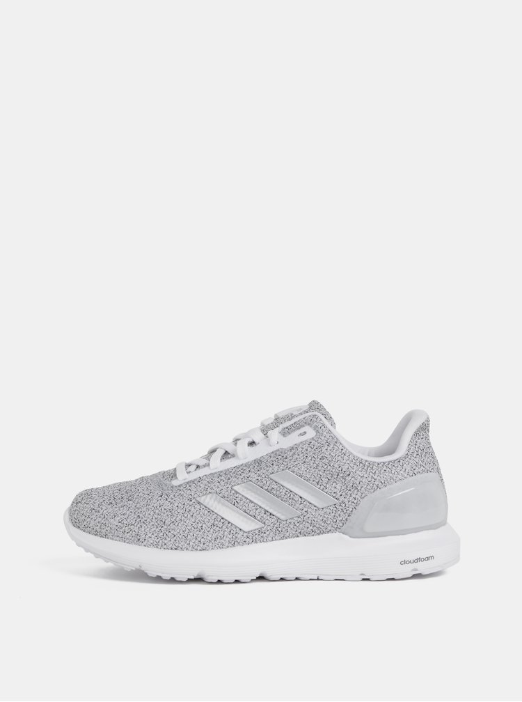 Šedé dámské žíhané tenisky adidas CORE Cosmic 2