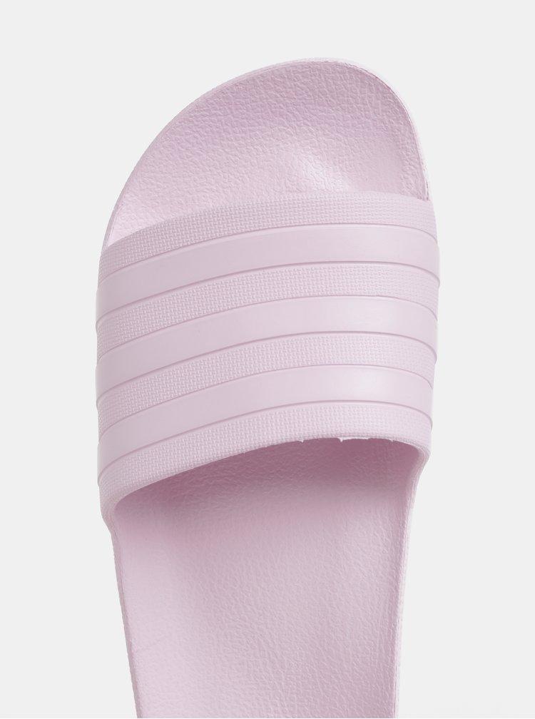 Světle růžové dámské pantofle adidas CORE Adilette