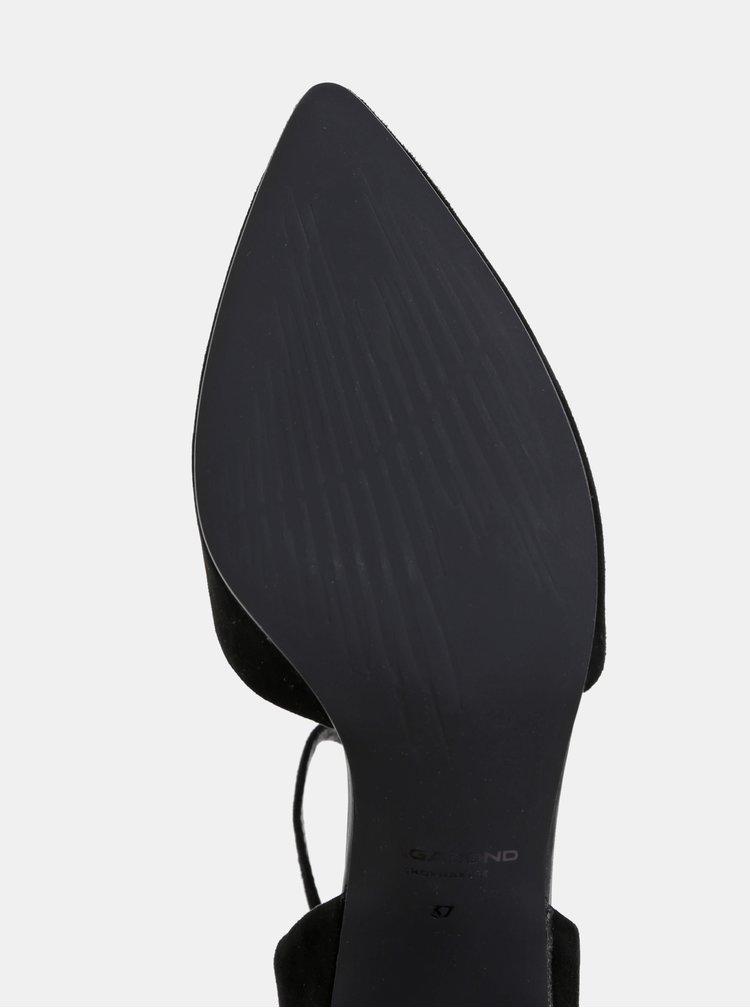 Černé semišové lodičky Vagabond Mya
