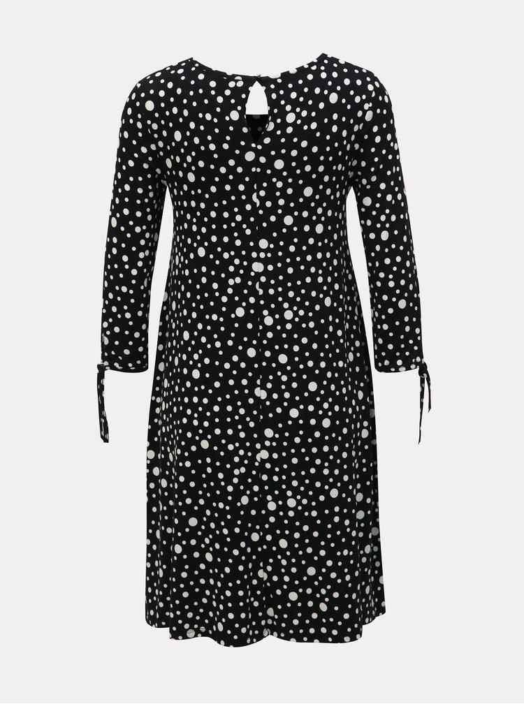 Rochie neagra cu buline M&Co