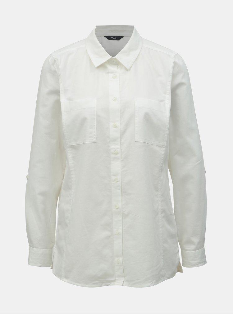 Bílá košile M&Co