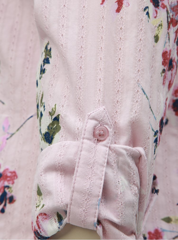 Camasa roz florala M&Co