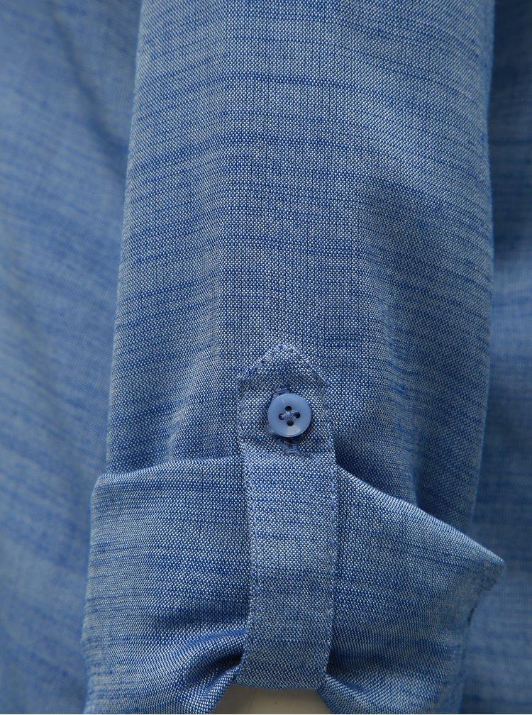 Modrá žíhaná halenka M&Co