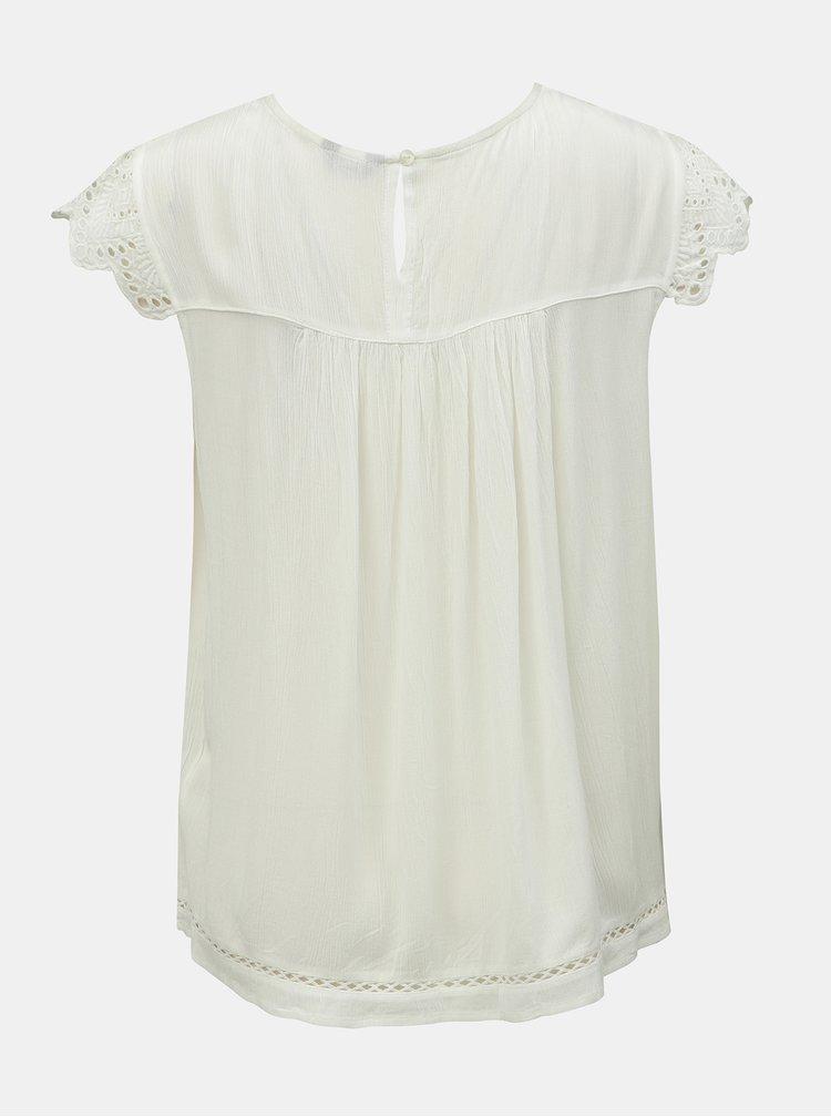 Biely top s madeirou M&Co
