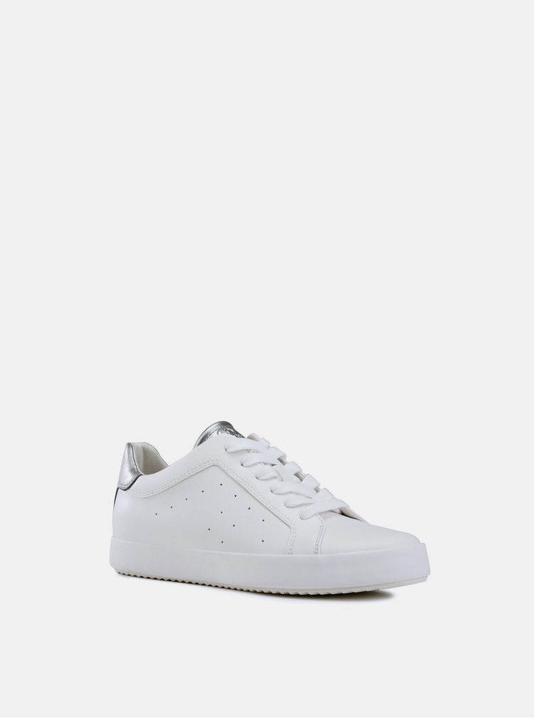 Biele dámske tenisky Geox Blomiee