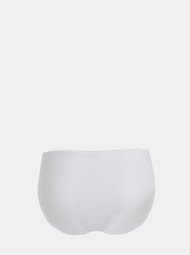 Sada pěti kalhotek v bílo-šedé barvě M&Co
