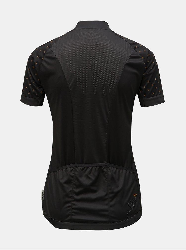 Čierne dámske funkčné tričko Maloja Porta