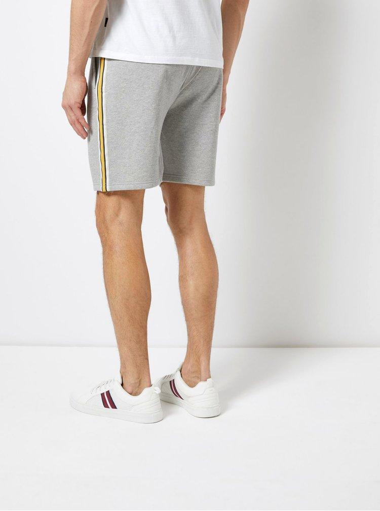 Pantaloni scurti gri Burton Menswear London