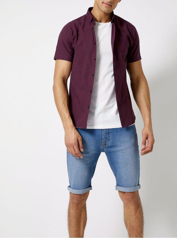 Pantaloni scurti albastri din denim Burton Menswear London