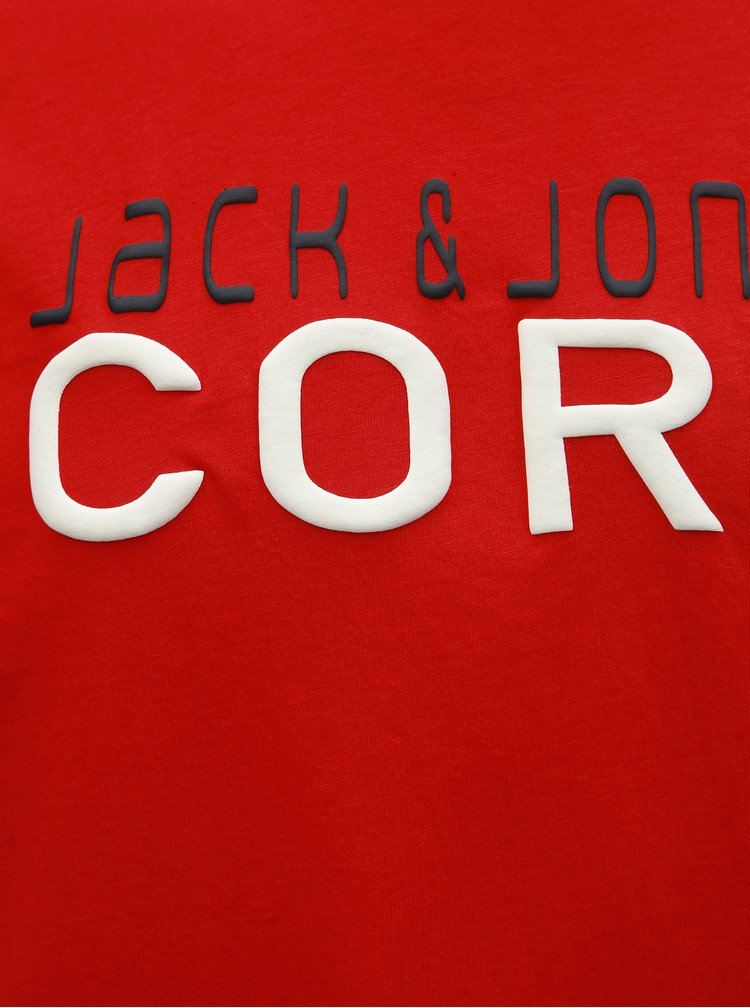 Červené tričko Jack & Jones Foam