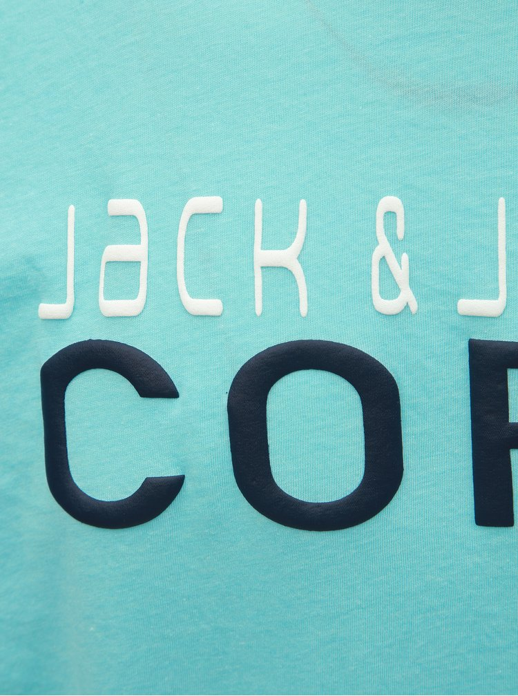 Svetlomodré tričko Jack & Jones Foam