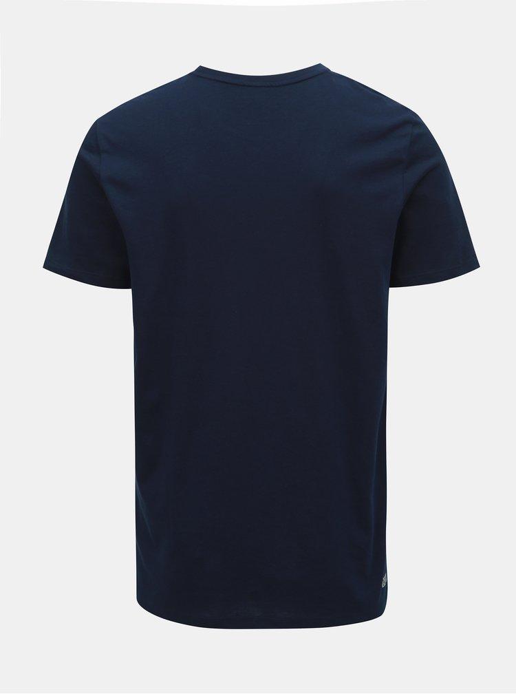 Tmavomodré tričko Jack & Jones Foam