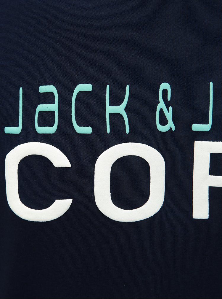 Tricou albastru inchis Jack & Jones Foam
