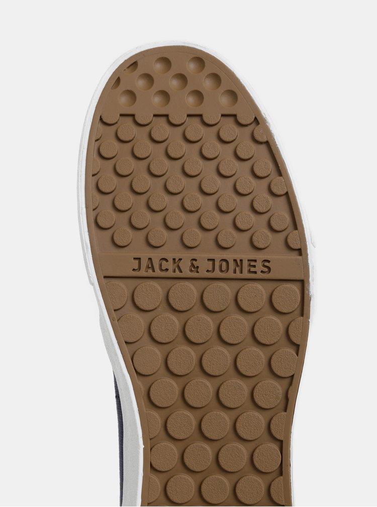 Tmavomodré pánske tenisky Jack & Jones Barton