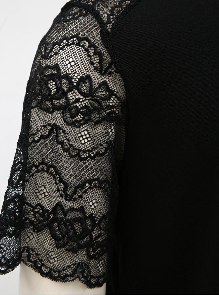 Čierne šaty s čipkou Jacqueline de Yong Marilyn