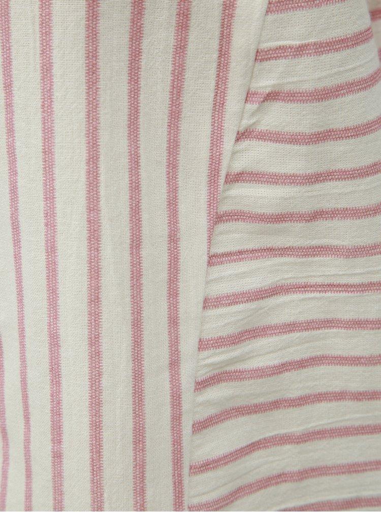 Top roz-alb in dungi VERO MODA Coco