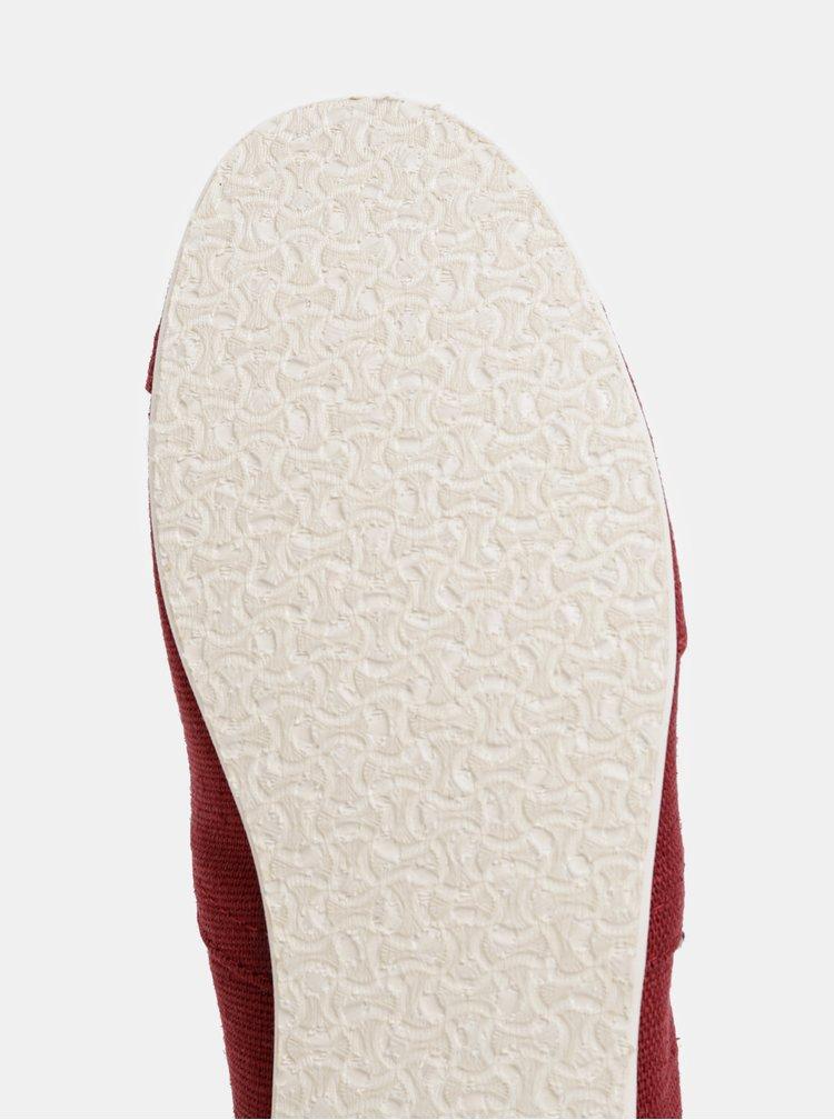 Pantofi espadrile barbatesti rosii TOMS