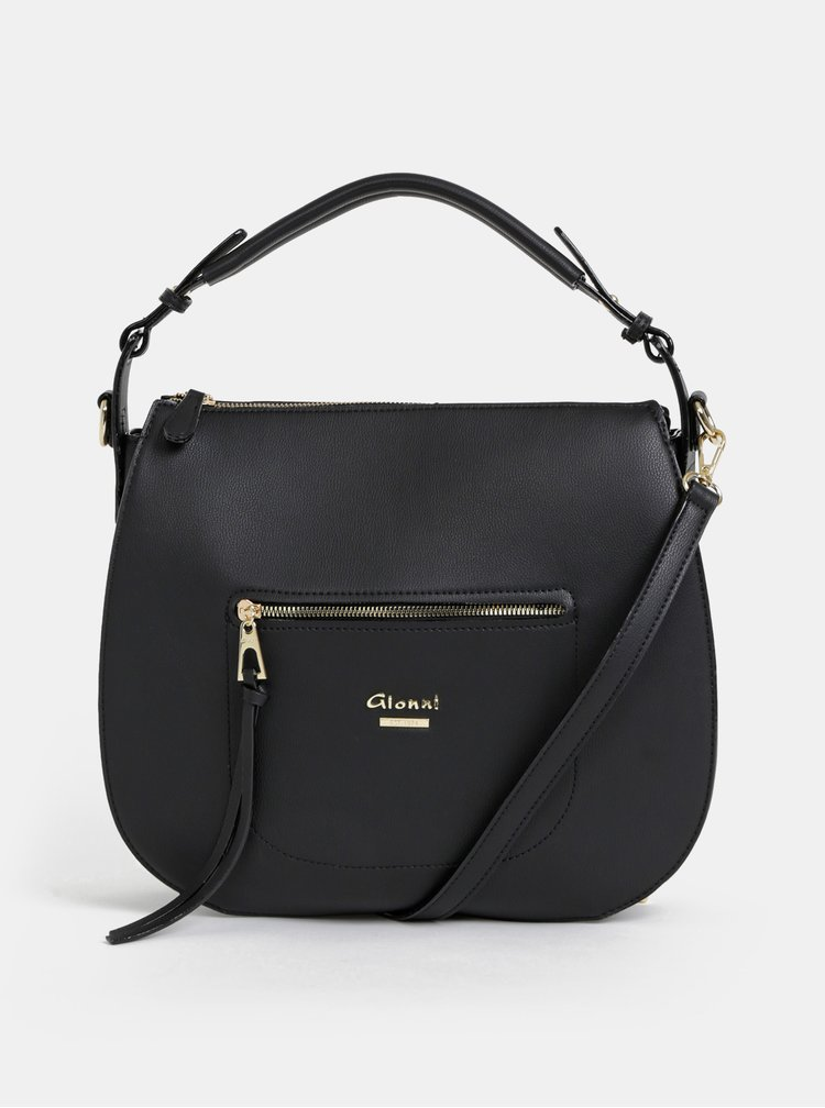 Čierna kabelka Gionni Neha