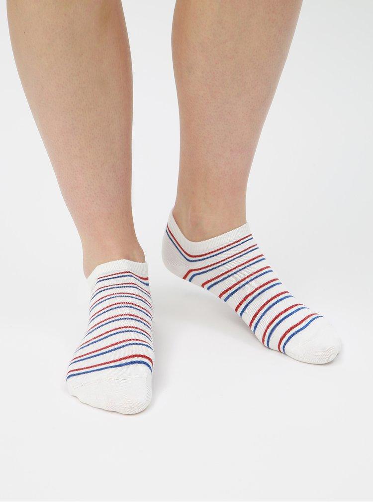 Sada tří bílých párů ponožek Tommy Hilfiger