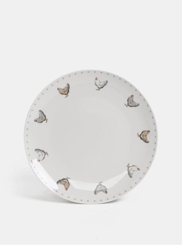 Sada dvanácti kusů nádobí s motivem slepic Cooksmart