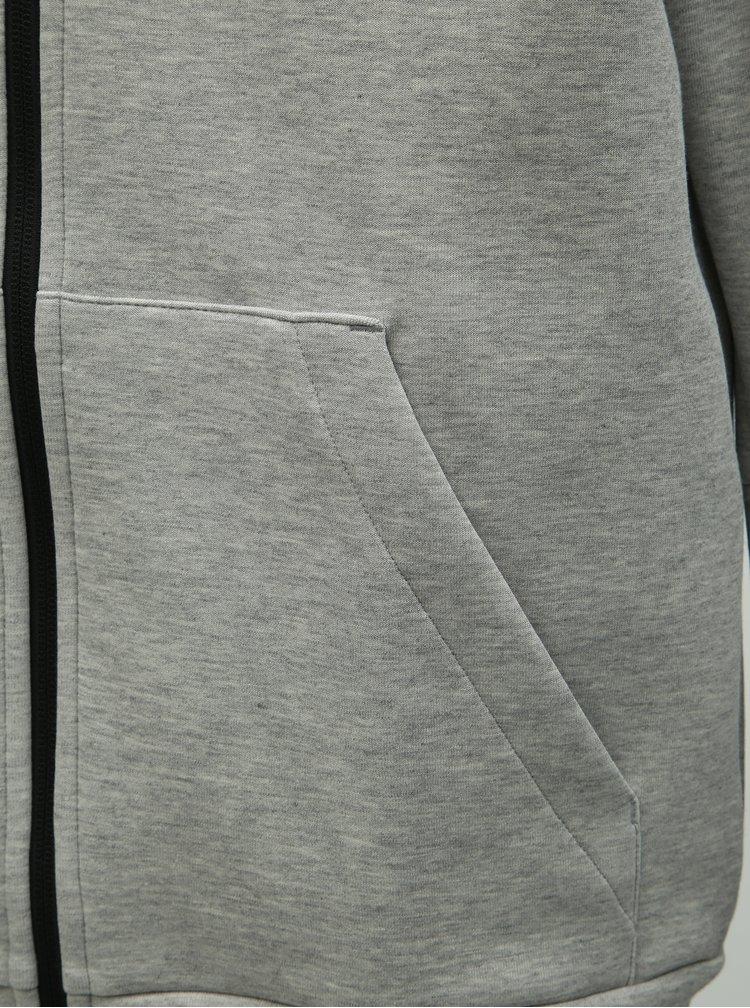 Sivá pánska mikina adidas Performance
