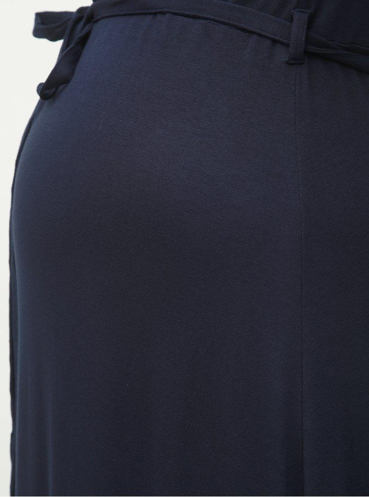 Tmavě modré těhotenské maxišaty Dorothy Perkins Maternity
