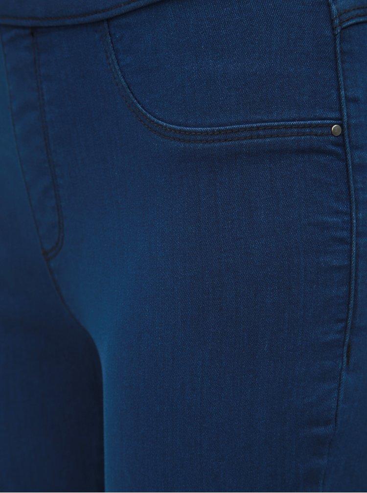 Tmavě modré jeggings Dorothy Perkins Petite Eden