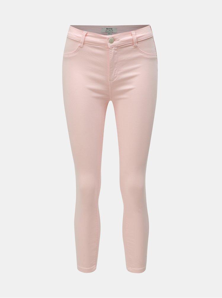 Blugi roz pana la glezne Dorothy Perkins Petite Frankie