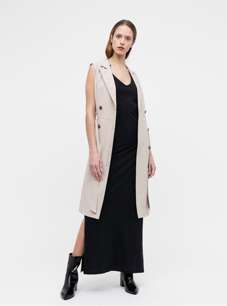 Béžové puzdrové šaty Dorothy Perkins