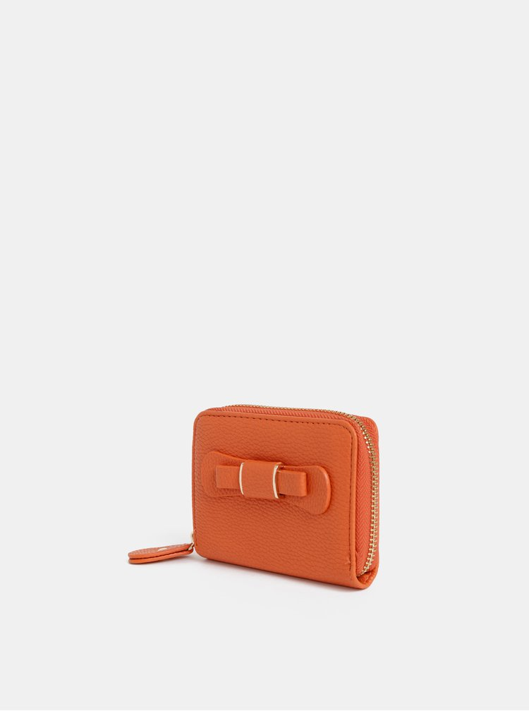 Oranžová peněženka Dorothy Perkins