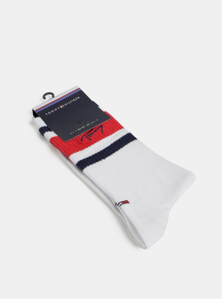Bílé ponožky Tommy Hilfiger