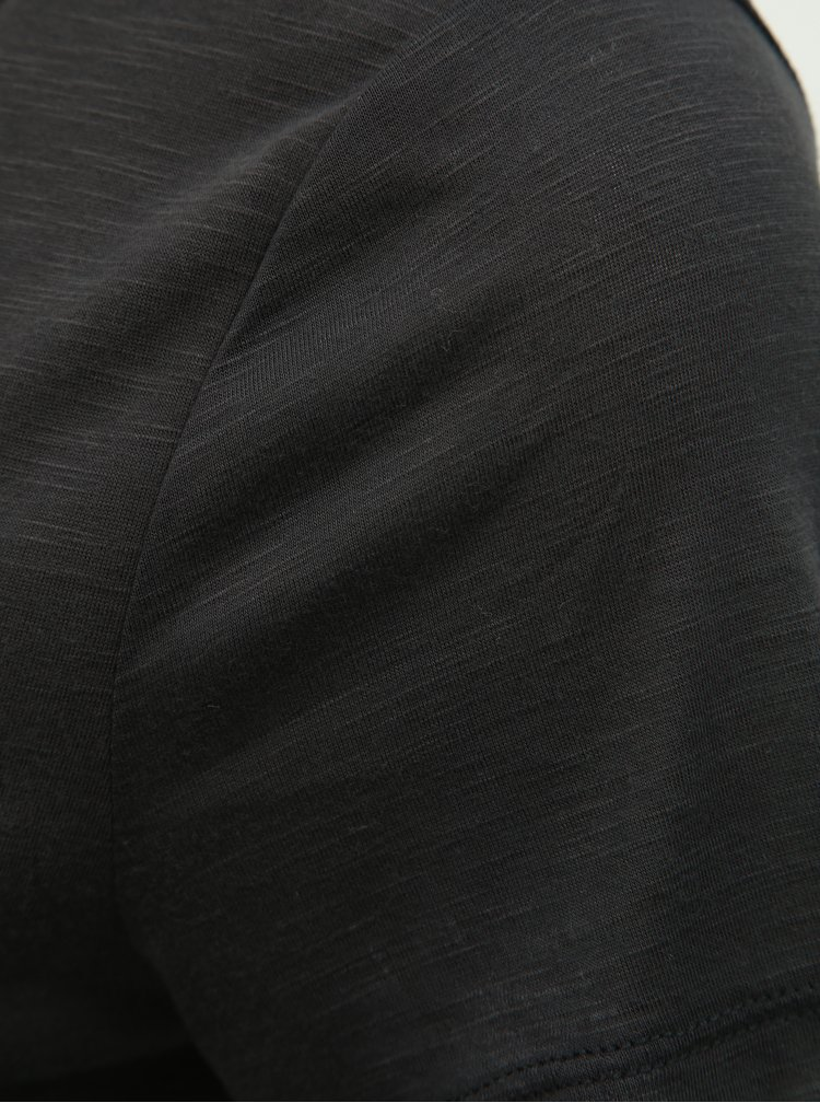Černé tričko VILA Noel