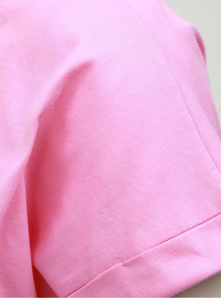 Růžové basic tričko VILA Dreamers