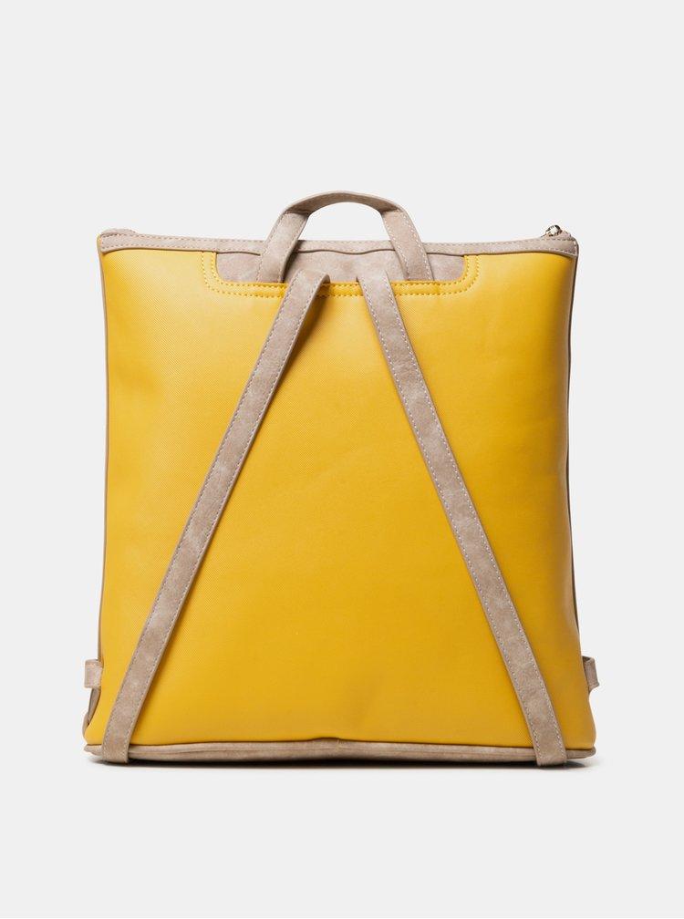 Béžovo-žlutý batoh Desigual Helios Berna